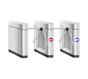 Turnstiles integrated with museum POS software