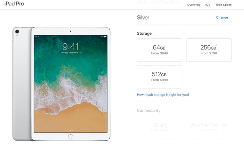 iPad Pricing