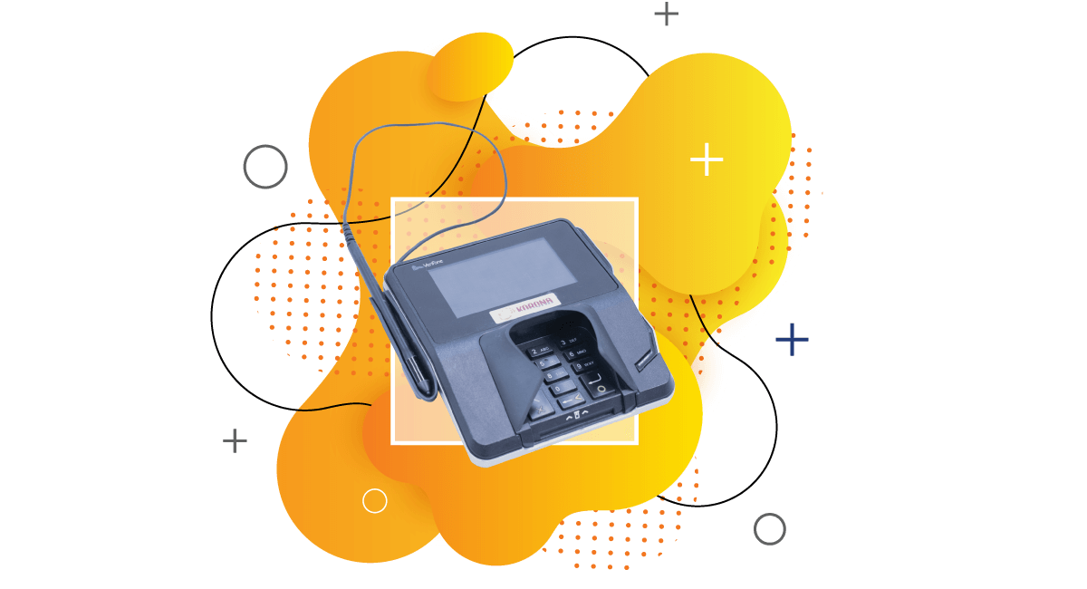 Cloud-based credit card terminal