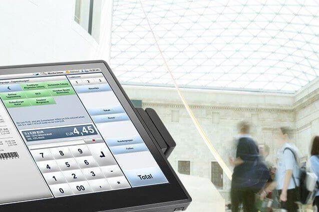 POS payment terminal features