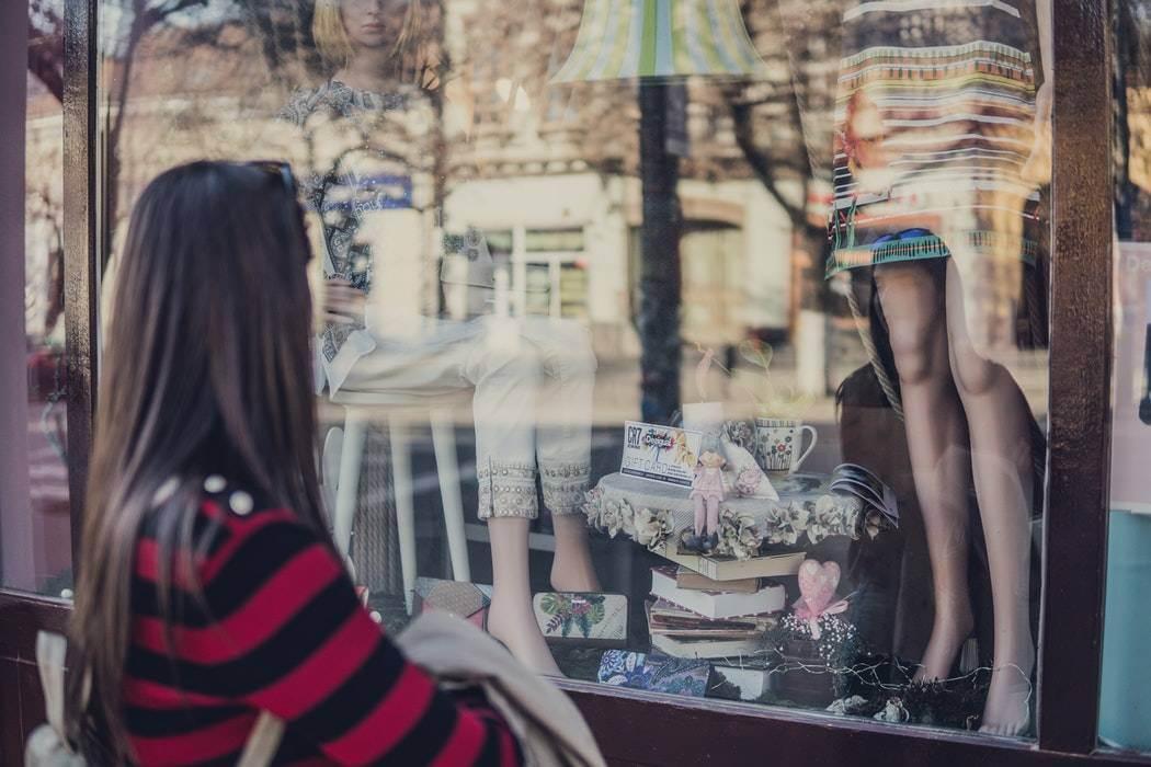 the window shopper type