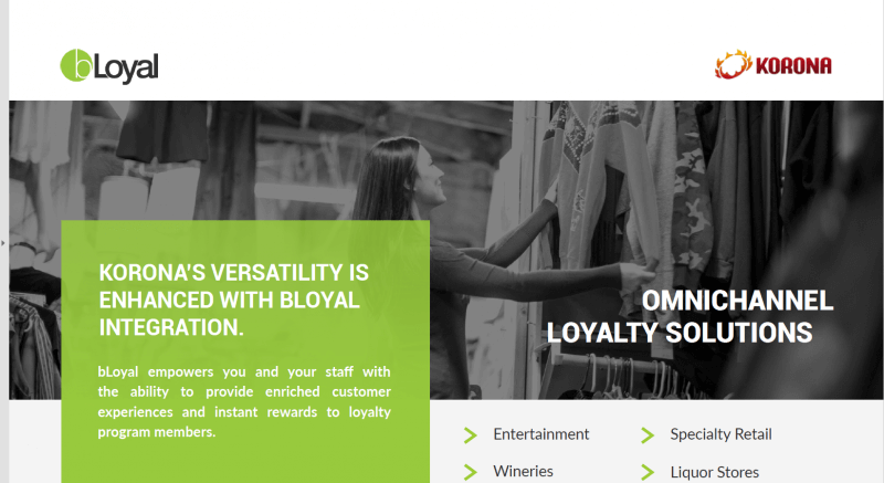 bLoyal Korona integration