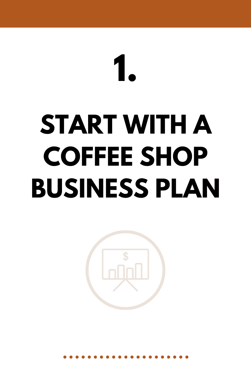 Start with a coffee shop business plan