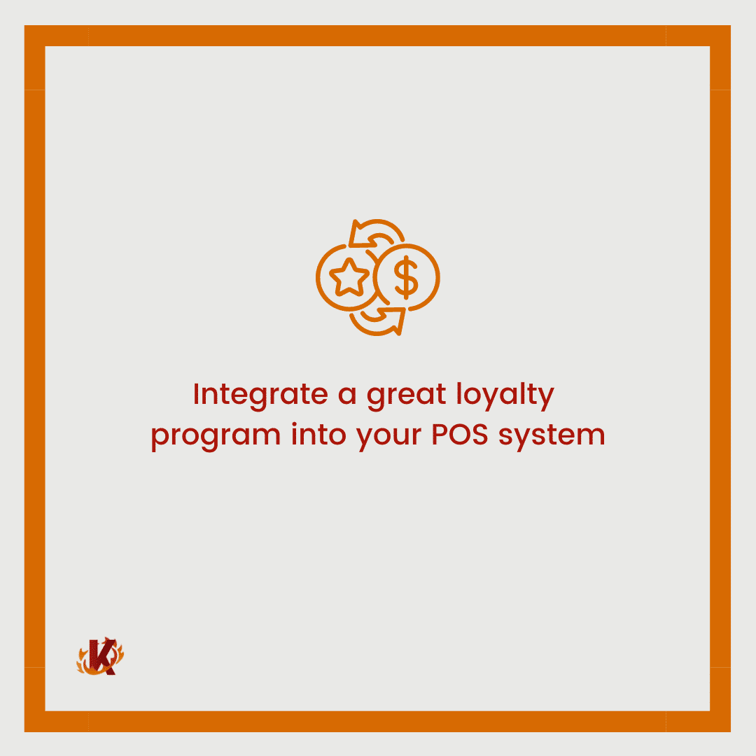 carousel graphic image with loyalty and dollar sign icon for the idea integrate loyalty program into pos system to drive in-store traffic