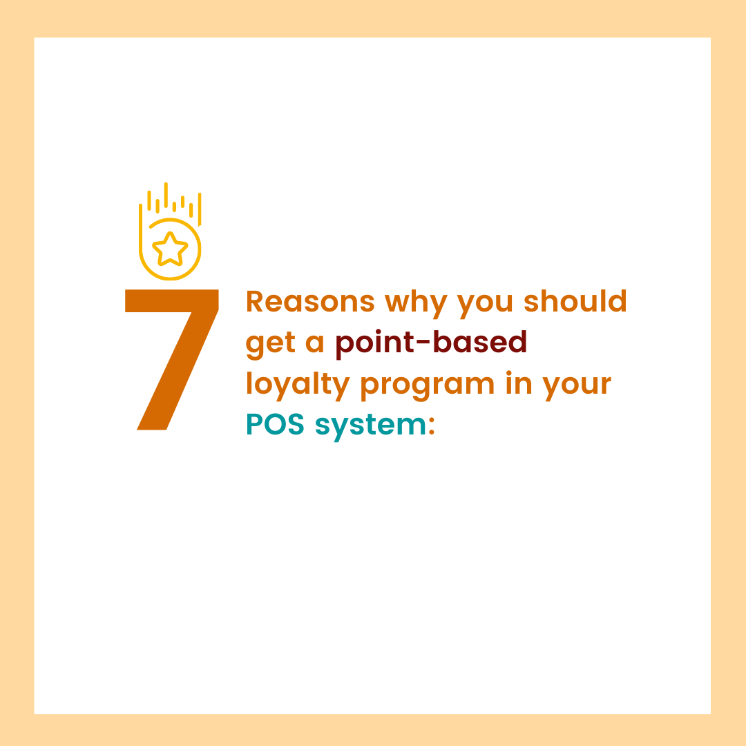 carousel graphic cover for 7 reasons why you should get a point-based loyalty program in your pos system