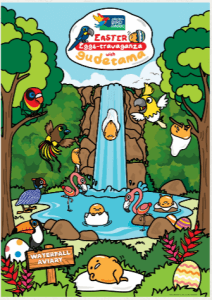 An advertisement for Singapore Zoo's Easter marketing event