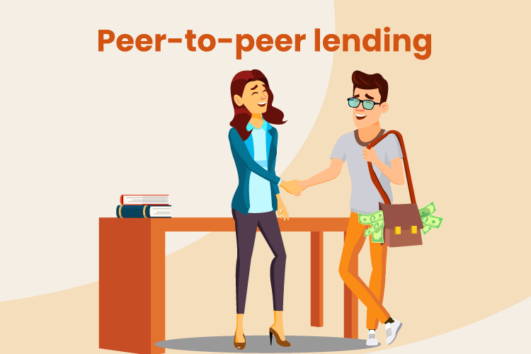 Small business owner greets a business lender to get a loan