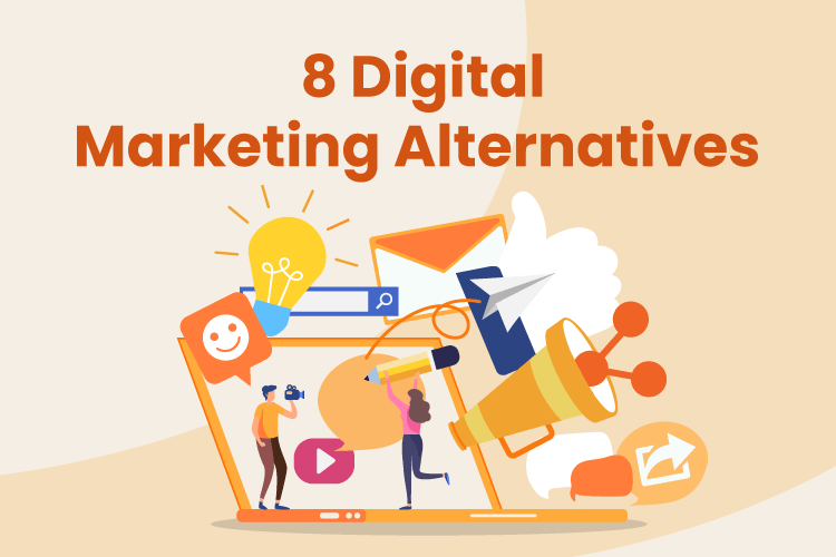 A group of digital marketing alternatives that small businesses can use