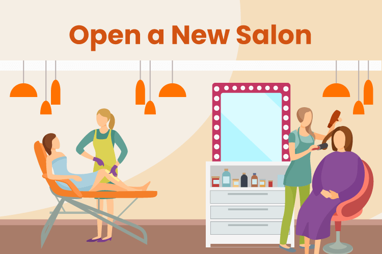 Small nail salon and spa business
