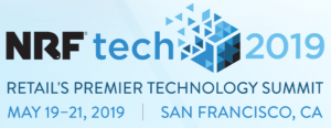 NRFtech show logo and dates