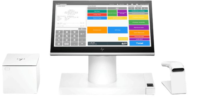 Retail loss prevention features on a POS system
