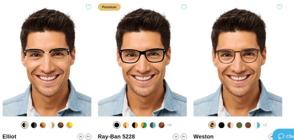 eCommerce glasses retailer allows shoppers to try on glasses at home
