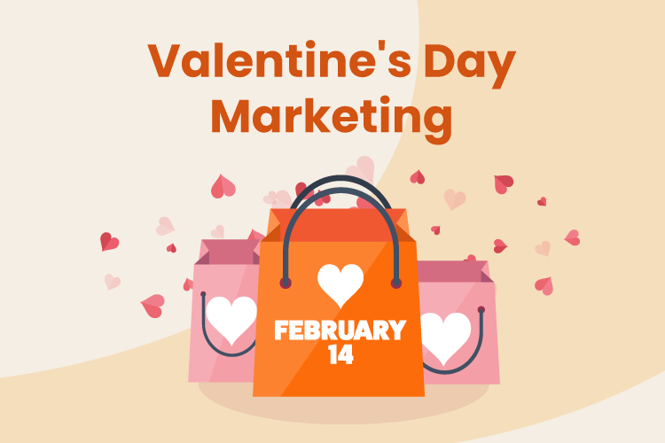 Retail store Valentine's Day promotion sale