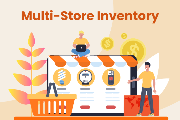People manage inventory for brick and mortar and eCommerce retail stores