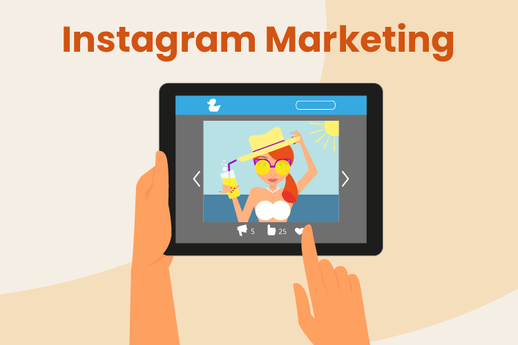 Business uses Instagram for marketing purposes