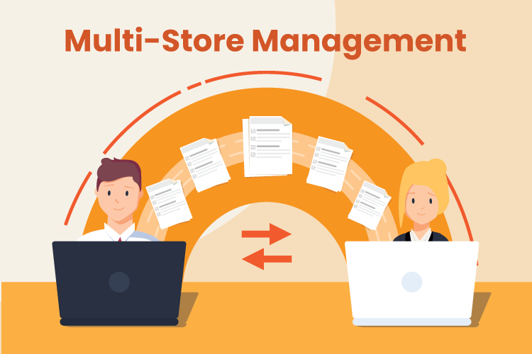 People use multi-store retail management software to produce product reports for several locations