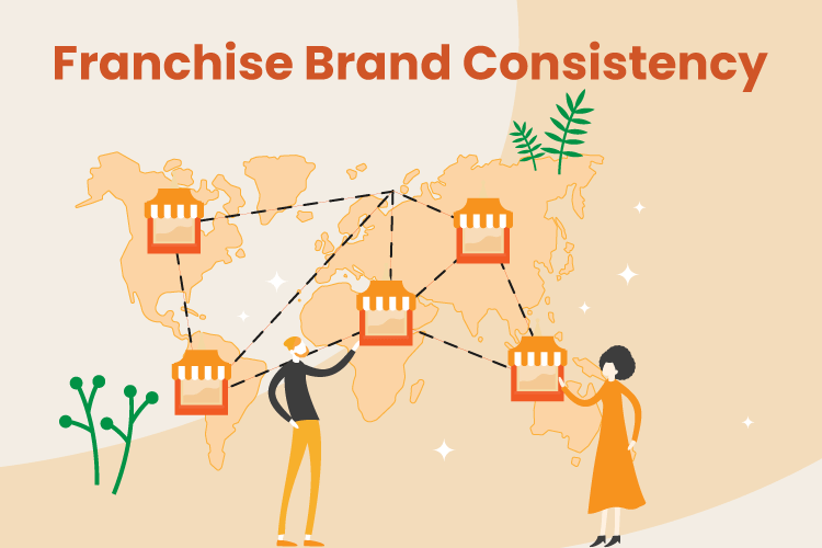 Franchise owner controls is brand consistency across locations all over the map