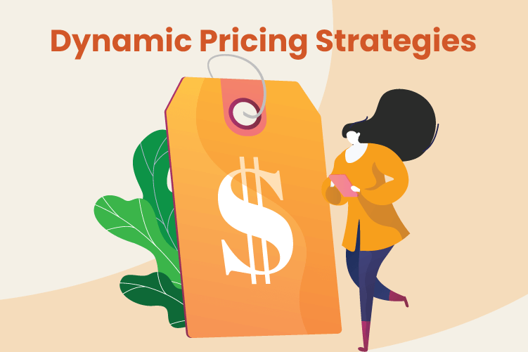 Person uses dynamic pricing strategies at their retail small business
