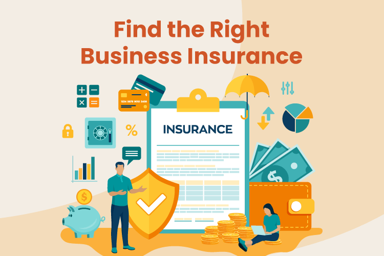 Business owner shops for the right business insurance