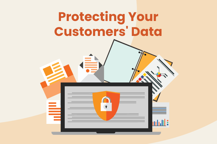 Secure software that protects customer data for small businesses