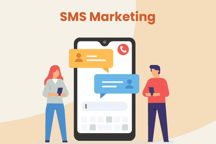 Business owners send out SMS marketing campaign texts to their customers