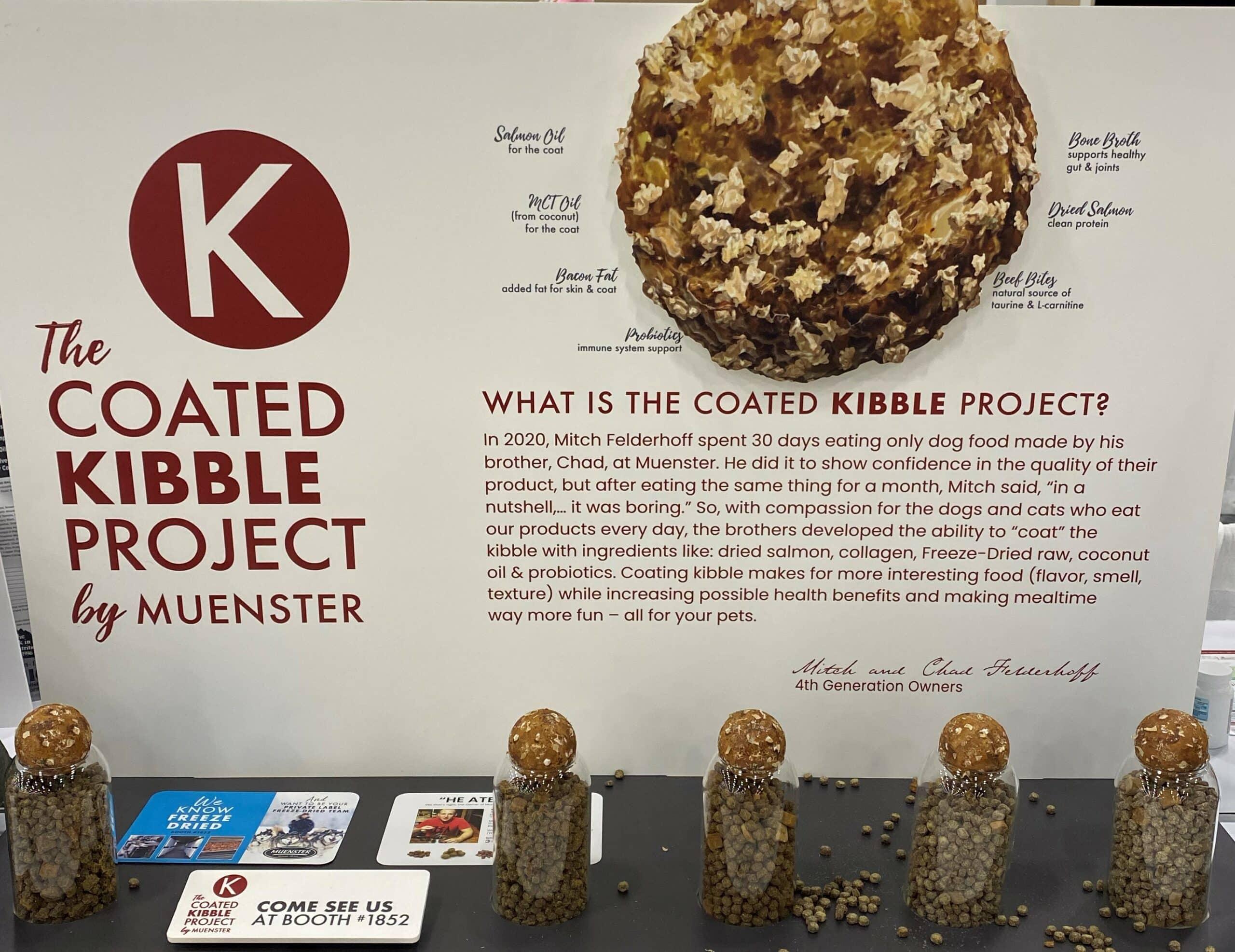 Kibble Project pet food coating