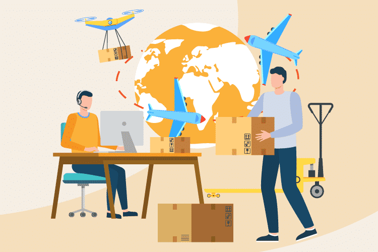 Company manages dropshipping business